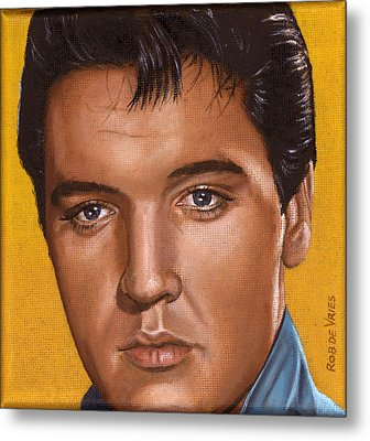 Elvis 24 1965 Metal Print by Rob De Vries