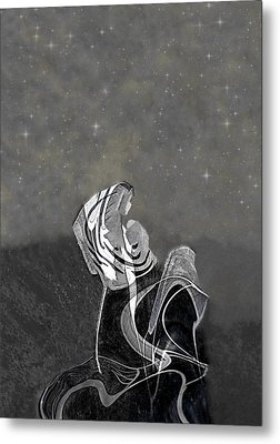 Embrace The Gift And Move Forward Metal Print by Lorai Wilson