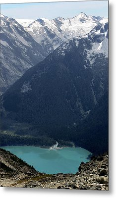 Emerald Cheakamus Lake Whistler Canada Metal Print by Pierre Leclerc Photography