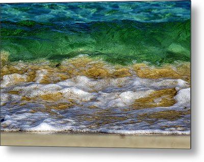 Emerald Sea Metal Print by Stelios Kleanthous