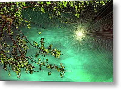 Emerald Sky Metal Print by Tom York Images