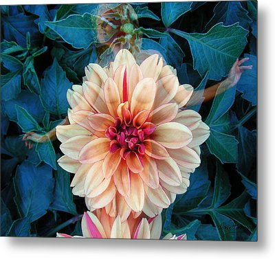 Emergence Metal Print by Torie Tiffany
