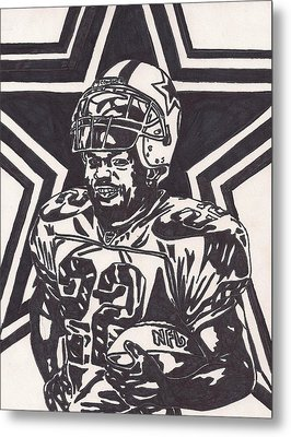 Emmitt Smith Metal Print by Jeremiah Colley