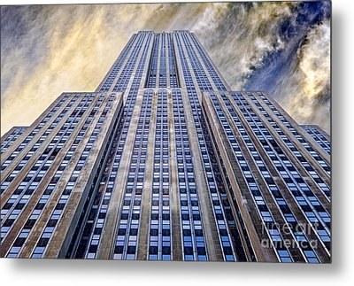 Empire State Building  Metal Print by John Farnan