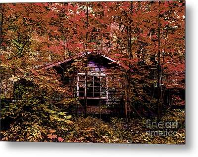 Empty And Forgotten Metal Print by Michael Eingle