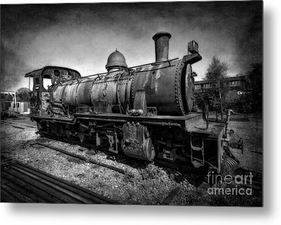 End Of The Line V2 Metal Print by Adrian Evans