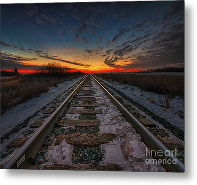 Endless Dawn Metal Print by Ian McGregor