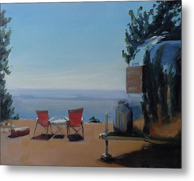 Endless View Boondocking At The Grand Canyon Metal Print by Elizabeth Jose