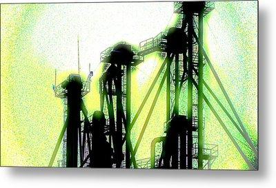 Energize Field Metal Print by Cyryn Fyrcyd