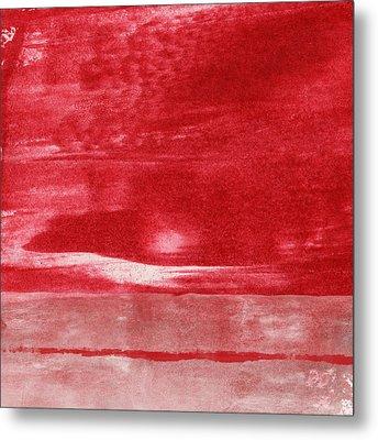 Energy- Abstract Art By Linda Woods Metal Print by Linda Woods