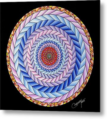 Energy In Movement Metal Print by Marcia Lupo