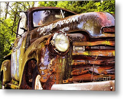 Engine Room Metal Print by Tom Griffithe