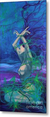 Entangled In Your Love... Metal Print by Dorina  Costras