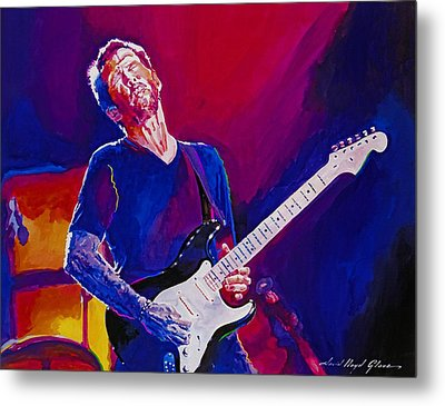 Eric Clapton - Crossroads Metal Print by David Lloyd Glover