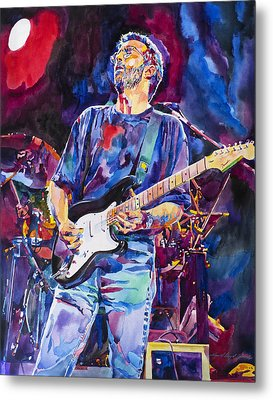 Eric Clapton And Blackie Metal Print by David Lloyd Glover