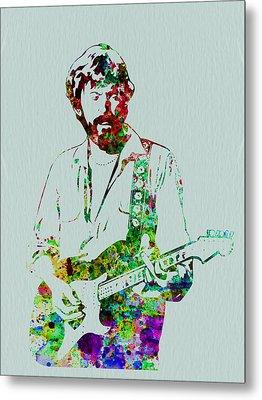 Eric Clapton Metal Print by Naxart Studio