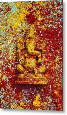 Essence Of Ganesha Metal Print by Tim Gainey