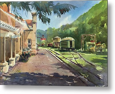 Eureka Springs Station Metal Print by Spencer Meagher