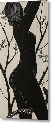 Eve Metal Print by Eric Gill