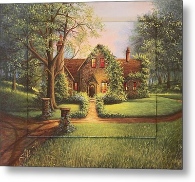 Evening Serenity Metal Print by Diana Miller