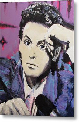 Evolution Of Paul Mccartney Metal Print by Eric Dee