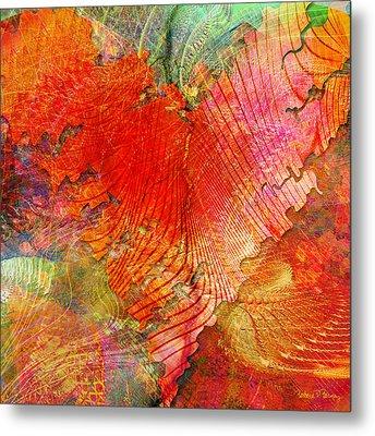 Exhilaration Metal Print by Barbara Berney