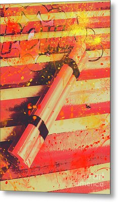 Explosive Comic Art Metal Print by Jorgo Photography - Wall Art Gallery