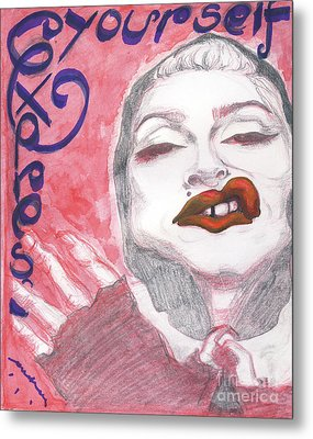 Express Yourself Metal Print by Andreea Paraschiv