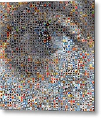 Eye 1  Metal Print by Boy Sees Hearts