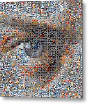 Eye 2 Metal Print by Boy Sees Hearts