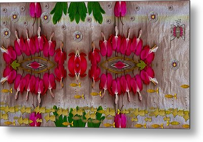 Eyes Made Of The Nature Metal Print by Pepita Selles