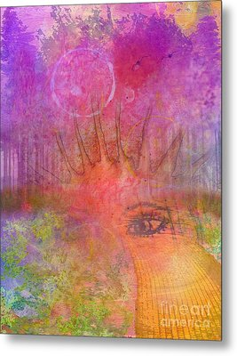 Eyes To The Soul Metal Print by Desiree Paquette