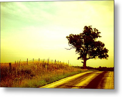 Faded Sky Metal Print by Jame Hayes