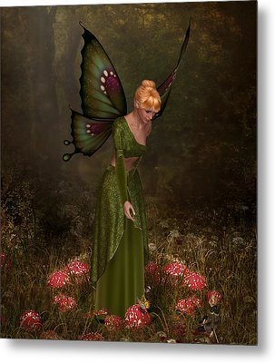Faerie Ring Metal Print by David Griffith