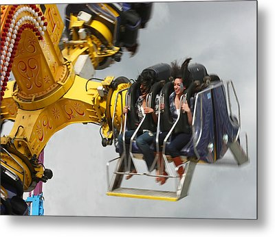 Fair Shake Metal Print by Barbara  White