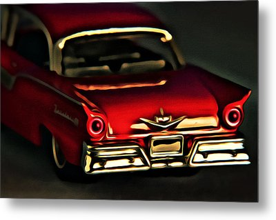 Fairlane 500 Metal Print by Jeff  Gettis