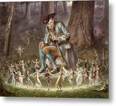 Fairy Dance Metal Print by William Holmes Sullivan