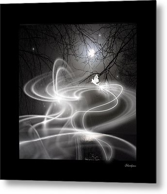 Fairy Fog Metal Print by Maggie  Smith