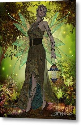 Fairy Gaia Metal Print by Corey Ford
