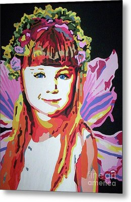Fairy Lexi Metal Print by Jennifer Heath Henry