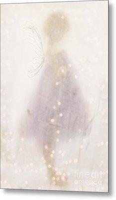 Fairy Lights Metal Print by Stephanie Frey