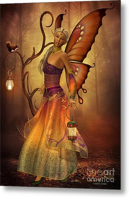 Fairy Lilith Metal Print by Corey Ford