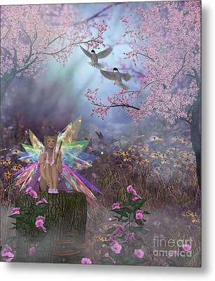 Fairy Patricia Metal Print by Corey Ford