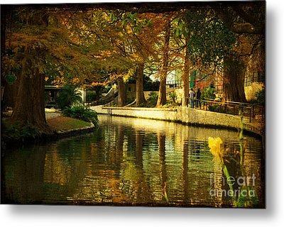 Fall In San Antonio Metal Print by Iris Greenwell