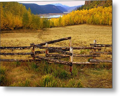 Fall In The Rockies 2 Metal Print by Marty Koch