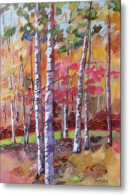 Fall Medley Metal Print by Marty Husted