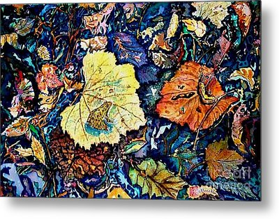 Fall Review Metal Print by Norma Boeckler