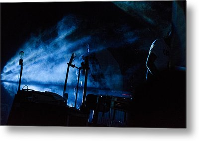 Falling From The Skies - Calexico Live  Metal Print by Andrea Mazzocchetti