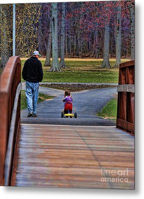 Family - A Father's Love Metal Print by Paul Ward