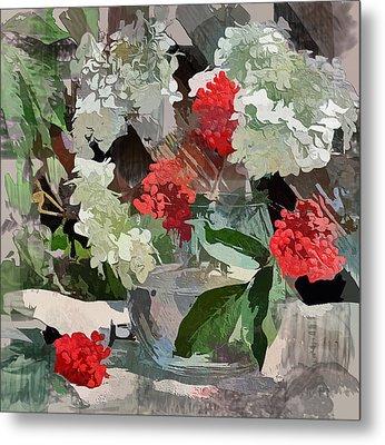 Fantastic Flowers Metal Print by Yury Malkov